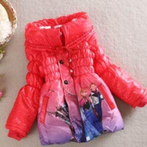 Other - Girl's Jacket-Elsa Anna Print